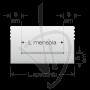 opake-glasplatte-mit-der-nummer-2-runden-ecken
