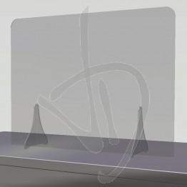 Divisoria parafiato in Plexiglass Trasparente su misura, senza passacarte