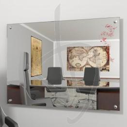 Specchio online, con distanziali e decoro A026