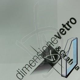 Vetrocamera con passagatto Trasparente