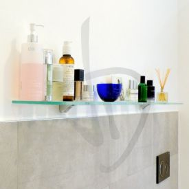 Mensole vetro bagno