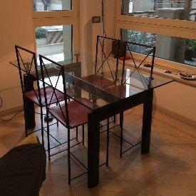 Piani in vetro per tavoli