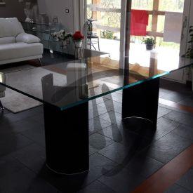 Tavoli in vetro su misura